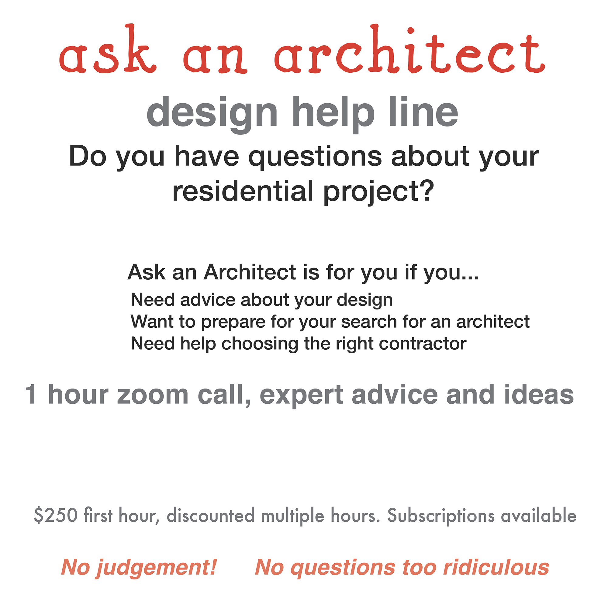 ask an architect 2
