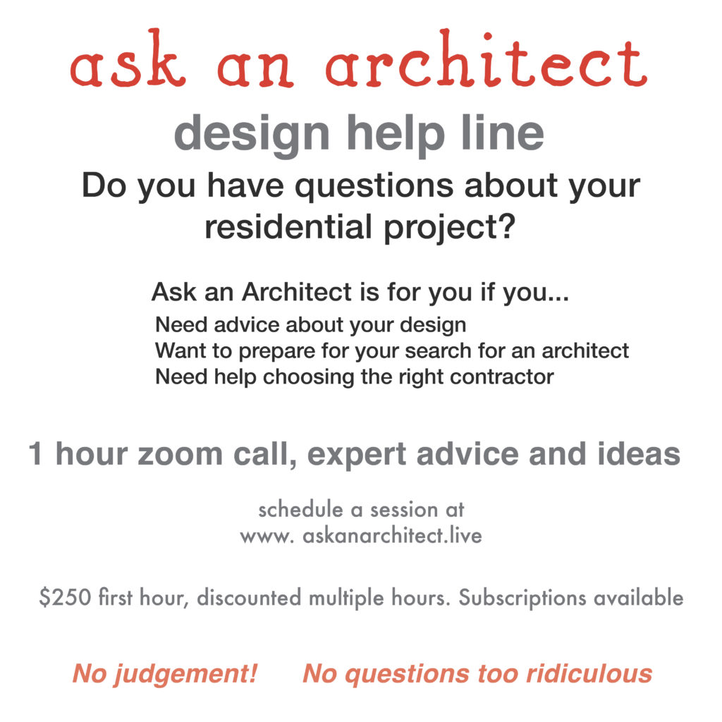 ask an architect 3